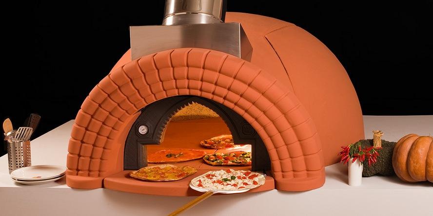Кладка  помпейских печей для приготовления пиццы из кирпича Савино