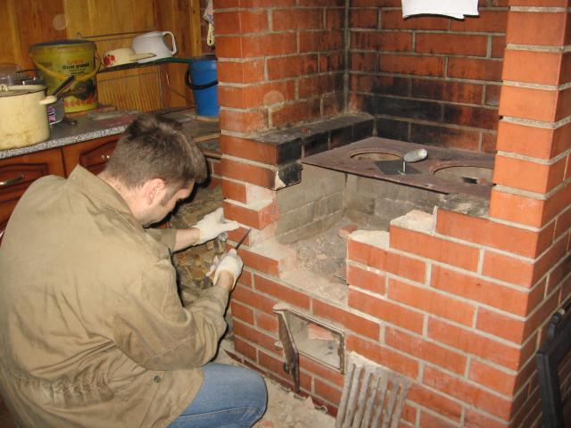 ремонт печей и каминов