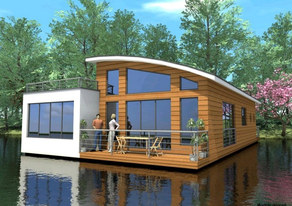 плавучий дом, плавдом, хаусбот
